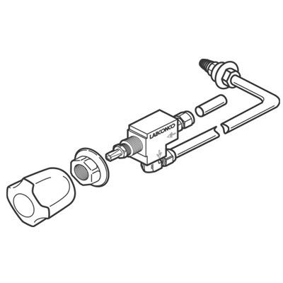 2832601 - Hot Water (HW) Standard Service Fixture Kit