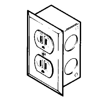 2834801 - Duplex Electrical Receptacle Kit